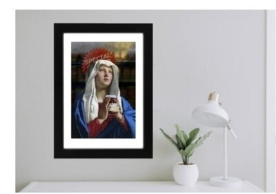 Affiche THE CRAVING  MARIE artiste Jose Luis Guerrero