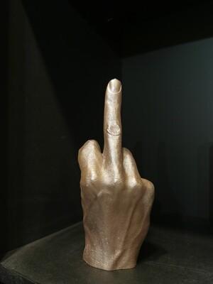 BOUGIE MAIN FCK bronze clair