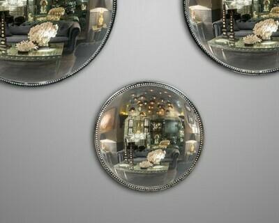 Miroir de Sorciere Antique Perlé XS Ø 25,5 cm