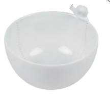 Coupelle Pot en Porcelaine Petit escargot