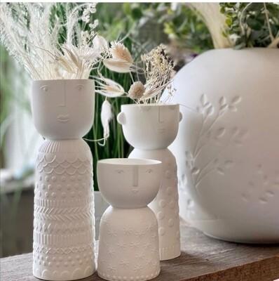 Bougeoir ou Vase en Porcelaine Stella small
