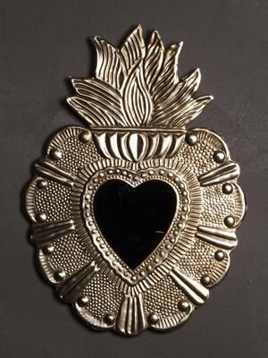 Miroir Ex Voto Cœur sacre