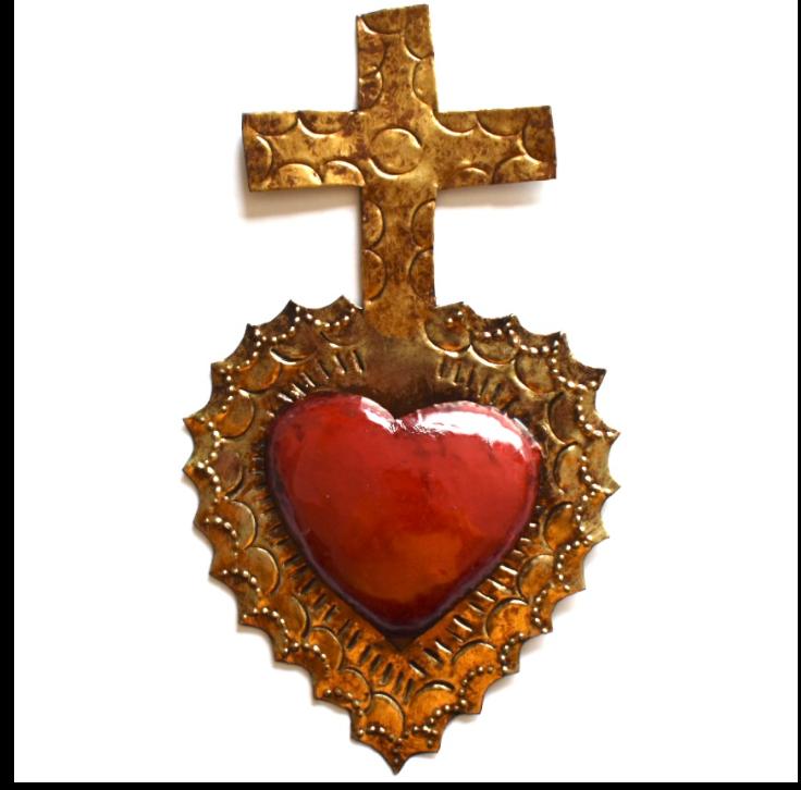 Ex voto Coeur sacre TAJITO col Rouge COMING BACK SOON