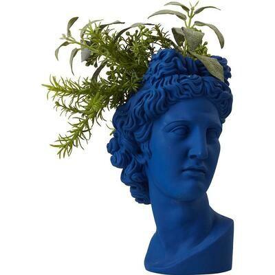 Apollo Head Vase Col Bleu électrique COMING BACK SEPTEMBER
