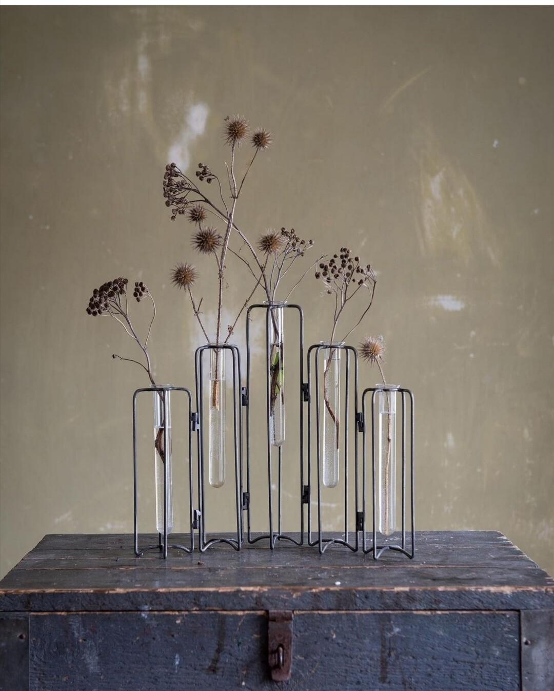 Vases éprouvettes
