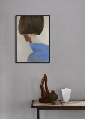 Affiche The Blue Cape by Amelie Hegardt