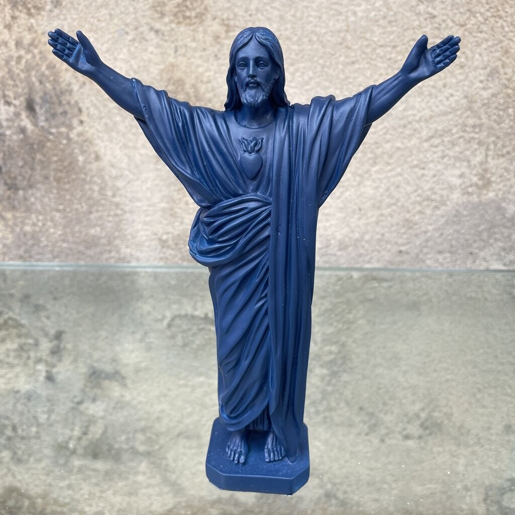 Statue JESUS LOVES YOU col Marine  J ai Vu La Vierge OUPS DEJA SOLD OUT COMING BACK IN SEPTEMBER