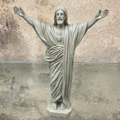 Statue JESUS LOVES YOU col Olive  J ai Vu La Virege  NEW!