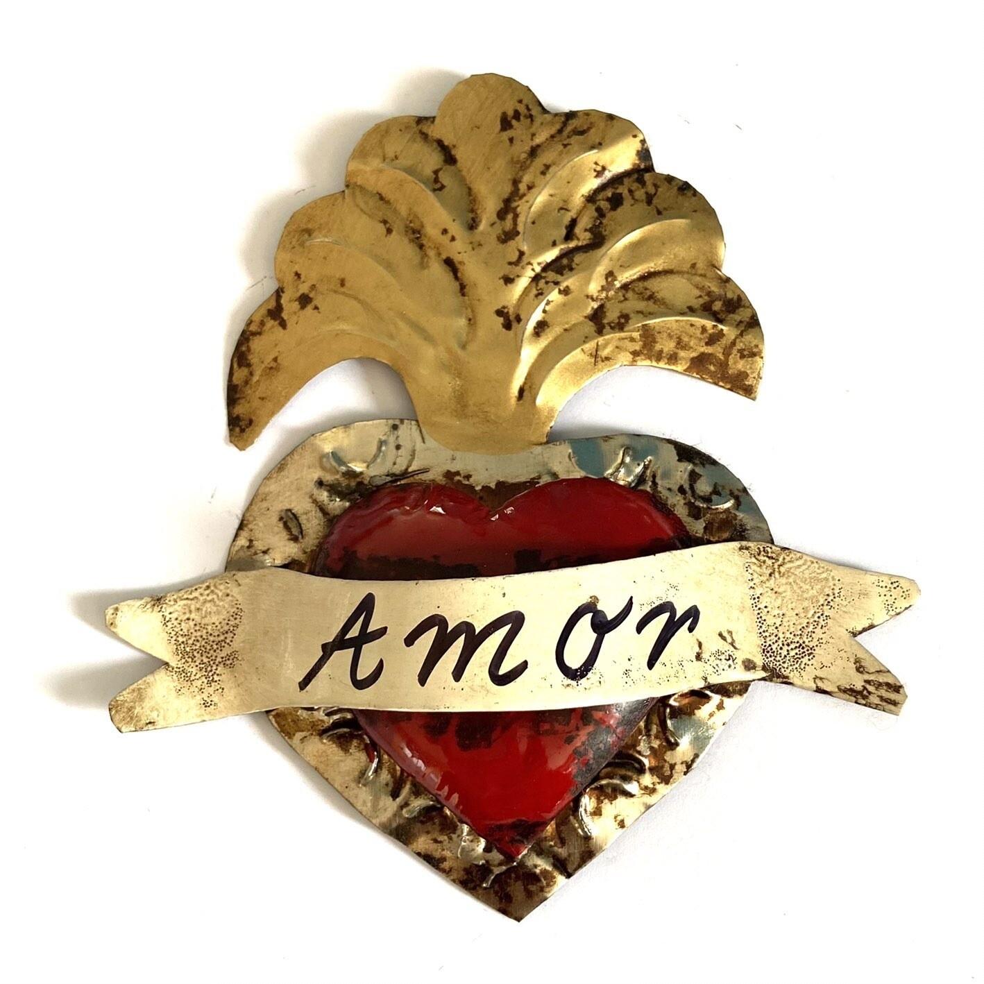 Ex Voto ROCHE AMOR small rouge