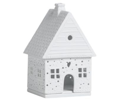 Maison Photophore En Porcelaine GINGERBREAD HOUSE  NEW MODEL !