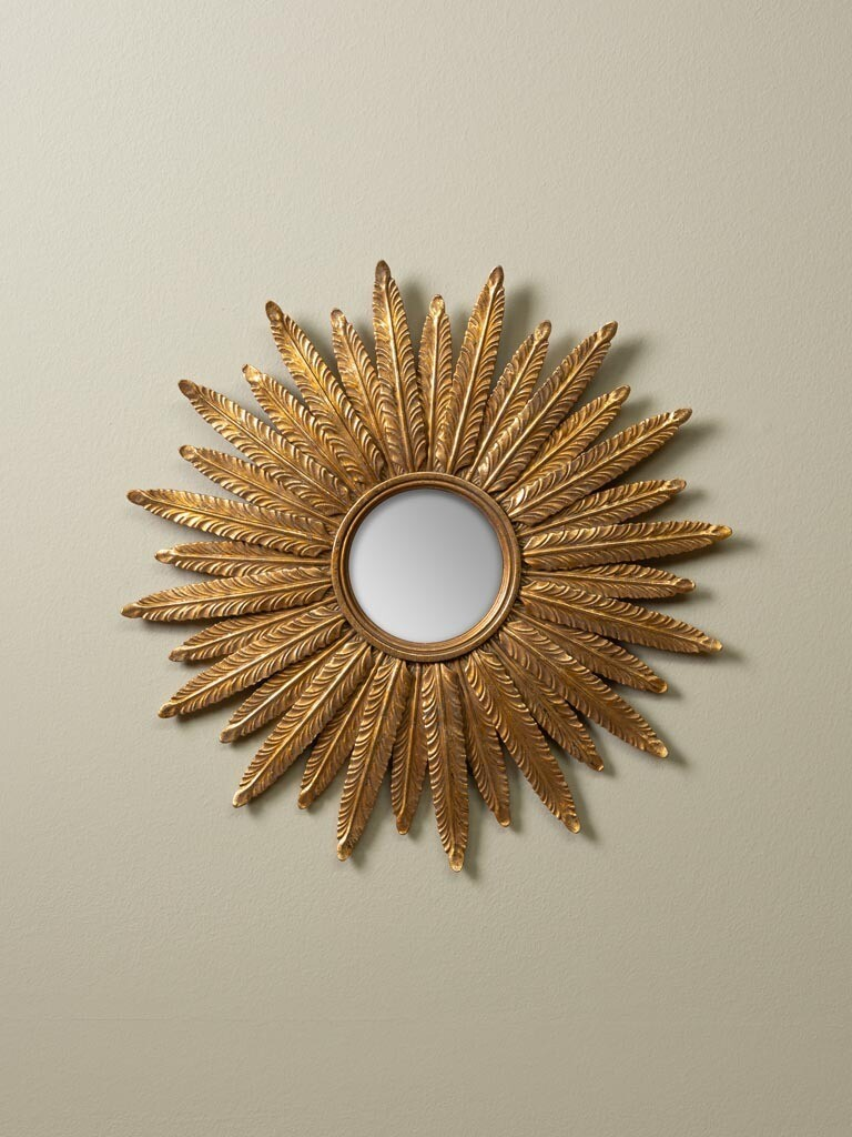 Miroir Soleil Rayons Plumes NEW ! COMING IN OCTOBER