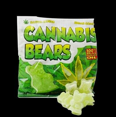 Bonbons Cannabis Bears (100g)