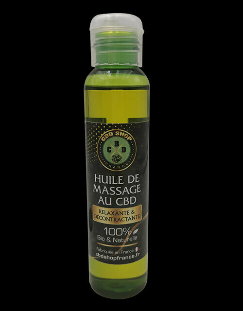 Huile de massage Relax CBD (100 ml)