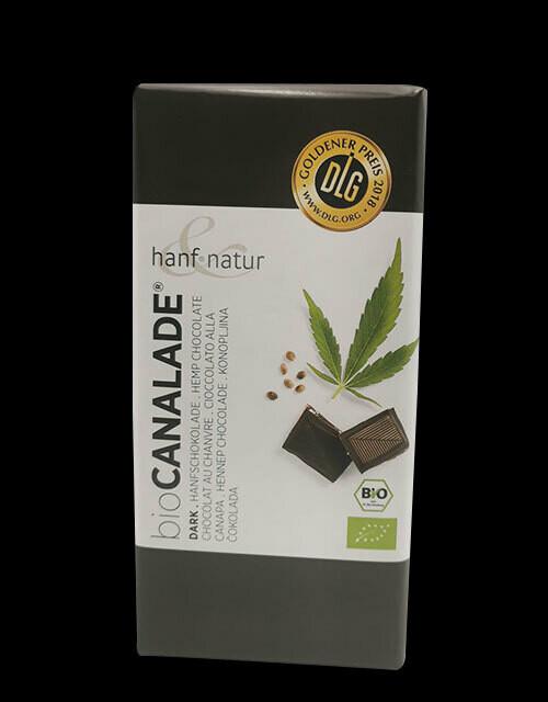 Chocolat noir au chanvre - BIO Canalade