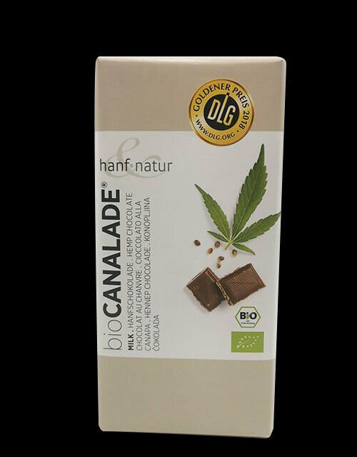 Chocolat Au lait au chanvre - BIO Canalade