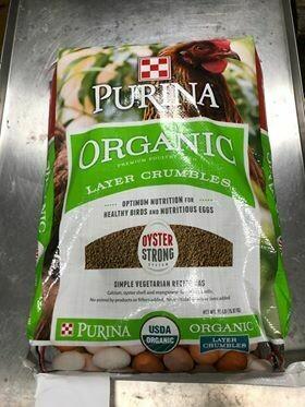 Organic Layer Crumble - Purina, 35 lb.