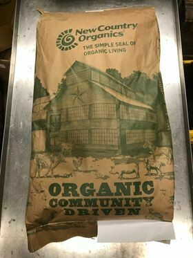 New Country Organics Duck Layer, 17% Protein, Mash, 50#