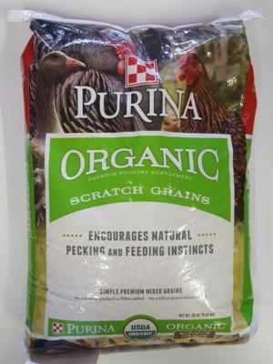 Organic Scratch - Purina, 35 lb.