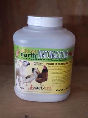 Red Lake Diatomaceous Earth, 4 lb.
