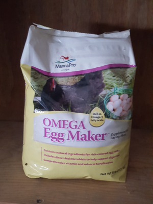 Manna Pro Omega Egg Maker, 5 lb.