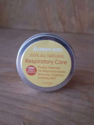 Green Goo Poultry Respiratory Care, 1.82 oz.