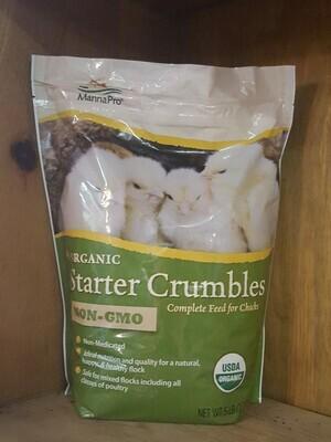 Manna Pro Organic Starter Crumble, 5 lb.