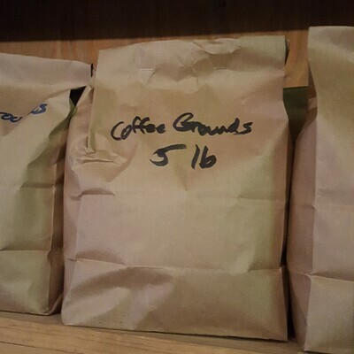 Coffee Grounds, 5 lb. Bag