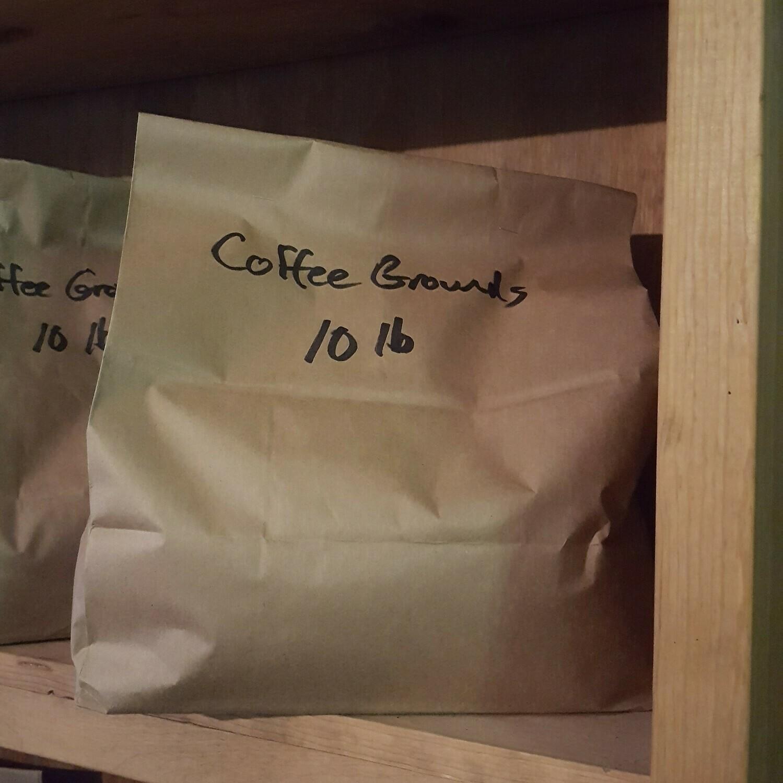 Coffee Grounds, 10 lb. Bag