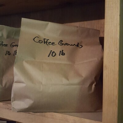 Coffee Grounds, 10 lb. Bag