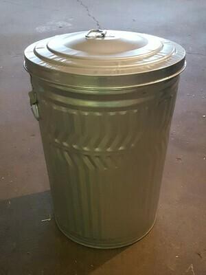 20 Gallon Galvanized Storage Can