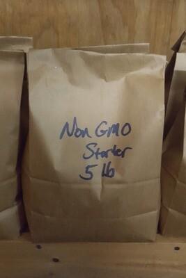 Local Non-GMO Non-Medicated Starter Mash, 5 lb.