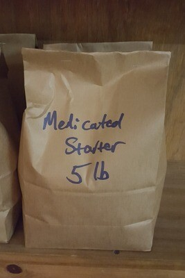 Local Medicated Starter Crumbles, 5 lb.