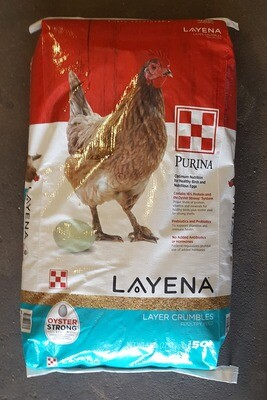 Layena Layer Crumble - Purina, 50 lb.