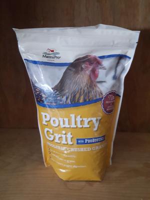 Manna Pro Poultry Grit with Probiotics, 5 lb.