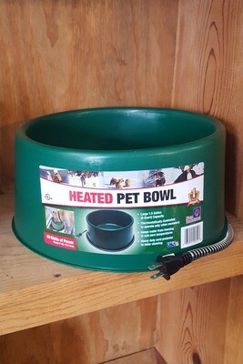 1.5 Gallon Heated Pet Bowl