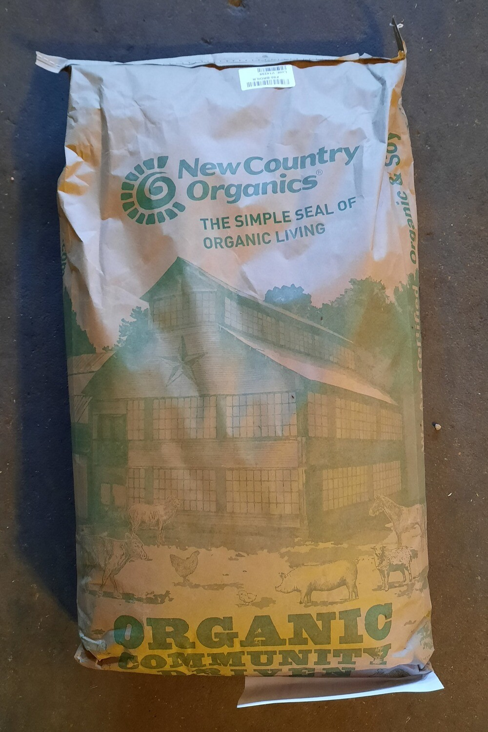 Classic Grower/Broiler Mash - New Country Organics, 50 lb.
