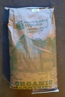 Corn-Free Grower/Broiler Mash - New Country Organics, 50 lb.