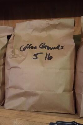Coffee Grounds, 5 lb. Bag