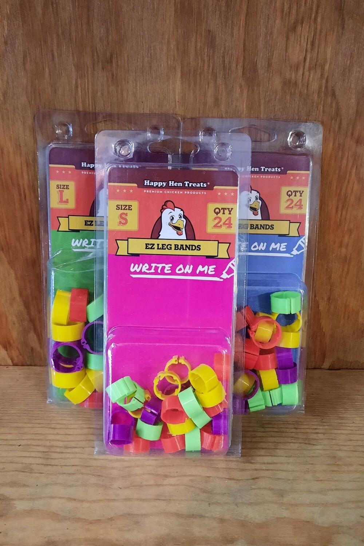 EZ Writable Leg Bands - 24 Pack