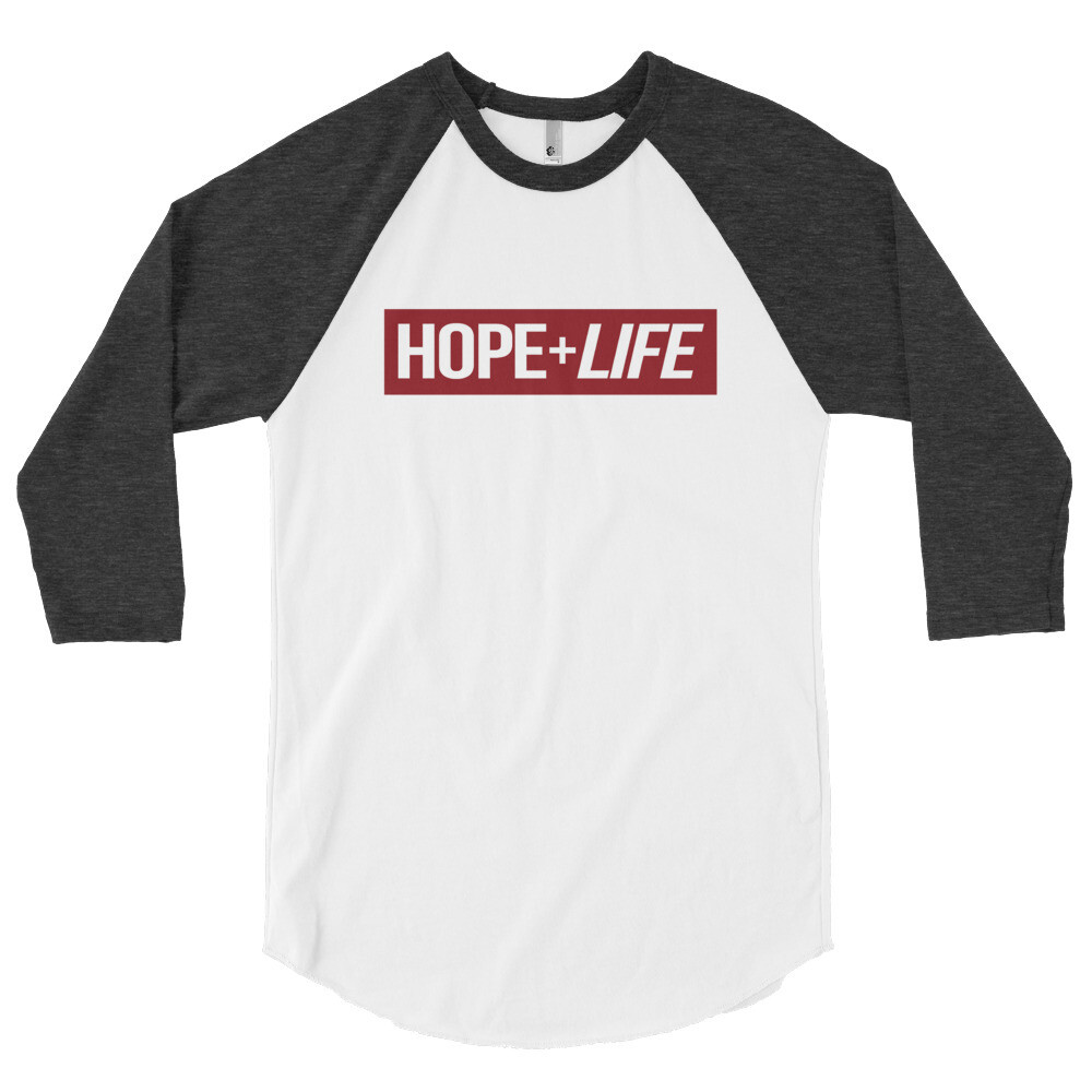 Hope Life - 3/4 Sleeve Raglan Shirt
