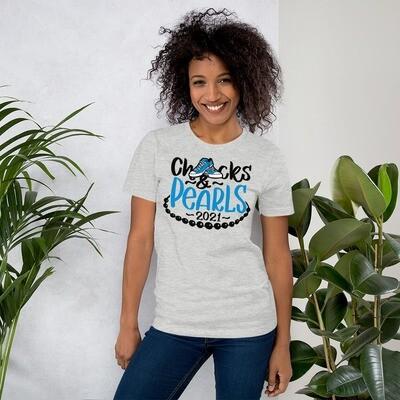 Hope, Chucks and Pearls 2021 Shirt (blue)