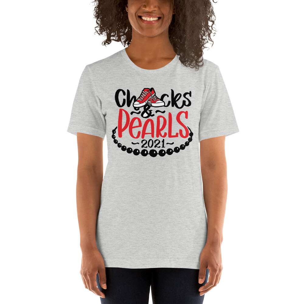 Chucks and Pearls 2021 Unisex T-Shirt