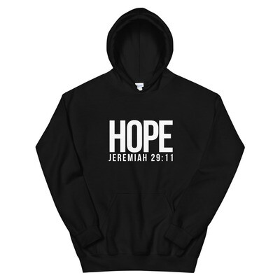 Hope with Jeremiah 29:11   Unisex Hoodie