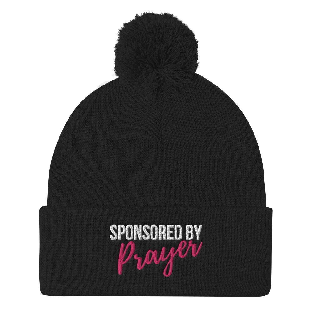 Sponsored by Prayer Pom Pom Knit Cap