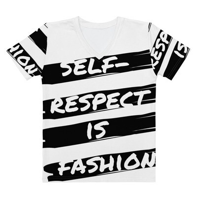 Fitted Self Respect is Fashion Women's V-neck