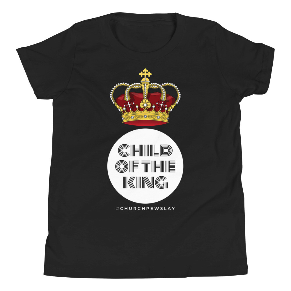 Child of the King Youth Short Sleeve T-Shirt