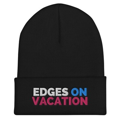Edges on Vacation Cuffed Beanie