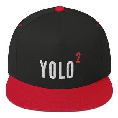 YOLO2 Flat Bill Cap