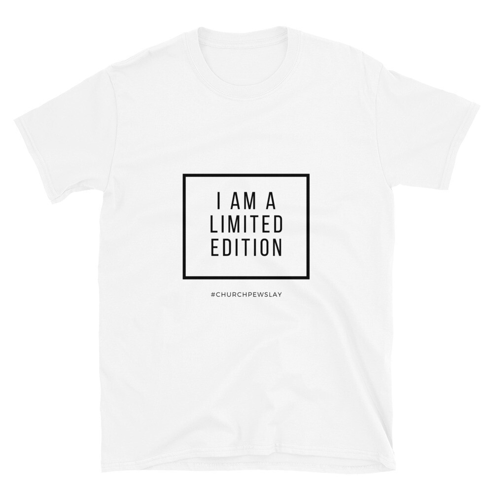 I Am A Limited Edition Short-Sleeve Unisex T-Shirt