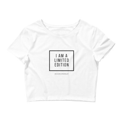 I Am A Limited Edition Women's Crop Tee